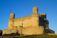 城堡manzanares 图库摄影