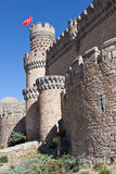 Manzanares Castle Royalty Free Stock Photo