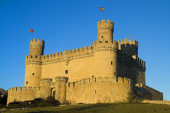 Manzanares Castle Stock Photography