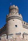 Manzanares Castle. Flag Stock Photography