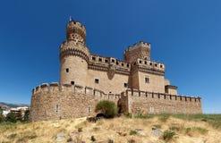 Manzanares el实际城堡 免版税库存图片