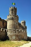 Manzanares EL το πραγματικό Castle (κάθετο) Στοκ εικόνα με δικαίωμα ελεύθερης χρήσης