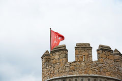 Manzanares El Real Castle Stock Images