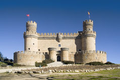 Manzanares El Real Castle frt Stock Image