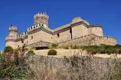 Manzanares el verkligt slott Arkivfoto