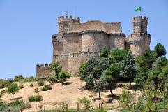 Manzanares el verkligt slott Royaltyfri Bild