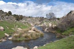 Manzanares River Royalty Free Stock Photography