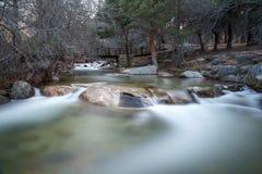 Manzanares rzeka Obrazy Royalty Free