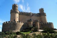 Manzanares slott Arkivbild