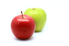 Manzanas Imágenes de archivo libres de regalías