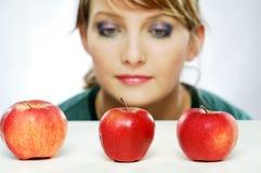 Manzanas Imagen de archivo libre de regalías