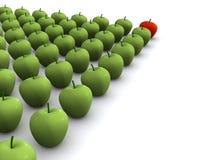 Manzanas stock de ilustración