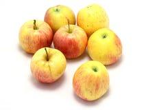 Manzanas aisladas Fotografía de archivo