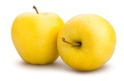 Manzanas amarillas Foto de archivo