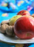 Manzanas brillantes foto de archivo