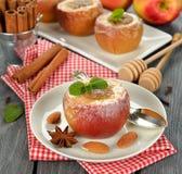 Manzanas cocidas Foto de archivo