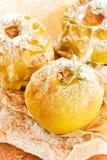 Manzanas cocidas Fotos de archivo libres de regalías