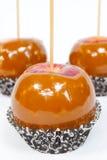 Manzanas de caramelo Imagen de archivo