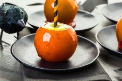 Manzanas de caramelo Fotos de archivo libres de regalías