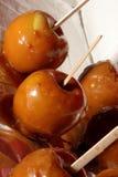 Manzanas de Carmel foto de archivo