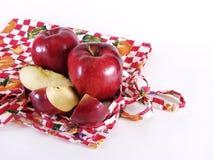 Manzanas de la cocina Imagenes de archivo