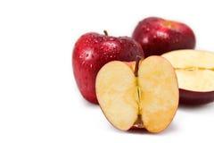 Manzanas de Nueva Zelandia Fotos de archivo