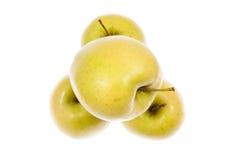 Manzanas de oro Imágenes de archivo libres de regalías