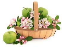 Manzanas de Smith de abuelita Fotos de archivo