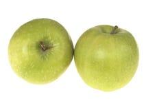 Manzanas de Smith de abuelita Fotografía de archivo