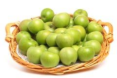 Manzanas del granny smith Imagenes de archivo