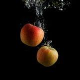 Manzanas del lavado fotos de archivo libres de regalías