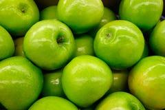 Manzanas del mac de la abuelita Fotos de archivo