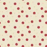 Manzanas del país del fondo Foto de archivo libre de regalías