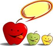 Manzanas deliciosas stock de ilustración
