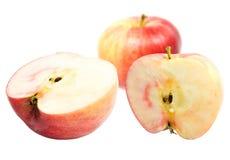 Manzanas dulces rojas Foto de archivo libre de regalías