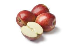 Manzanas dulces rojas Fotografía de archivo