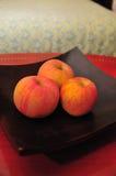 Manzanas en el vector Imágenes de archivo libres de regalías