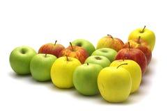 Manzanas frescas Imágenes de archivo libres de regalías