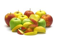 Manzanas frescas Imagenes de archivo