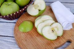 Manzanas frescas Imagen de archivo