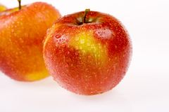 Manzanas frescas II Foto de archivo
