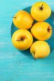 Manzanas 'golden delicious' Imagen de archivo