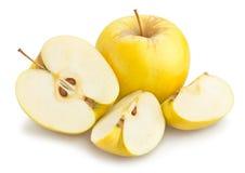 Manzanas 'golden delicious' fotografía de archivo libre de regalías
