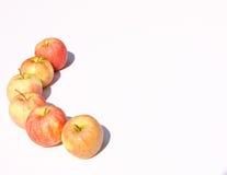 Manzanas a gozar Fotografía de archivo libre de regalías