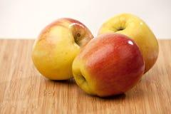 Manzanas maduras Foto de archivo libre de regalías