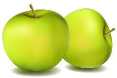 Manzanas naturales Fotografía de archivo