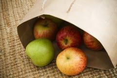 Manzanas orgánicas frescas Fotografía de archivo libre de regalías