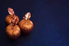 Manzanas ornamentales Fotos de archivo