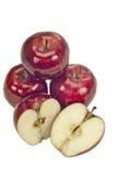 Manzanas red delicious Fotografía de archivo