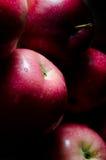 Manzanas rojas. Imagenes de archivo